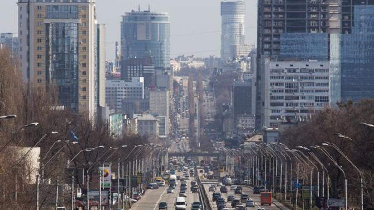 В Киеве назвали места, где воздух был грязным