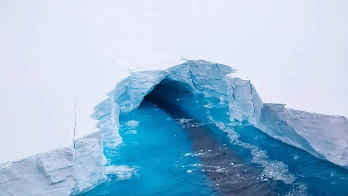 Від Антарктиди відколовся найбільший у світі айсберг