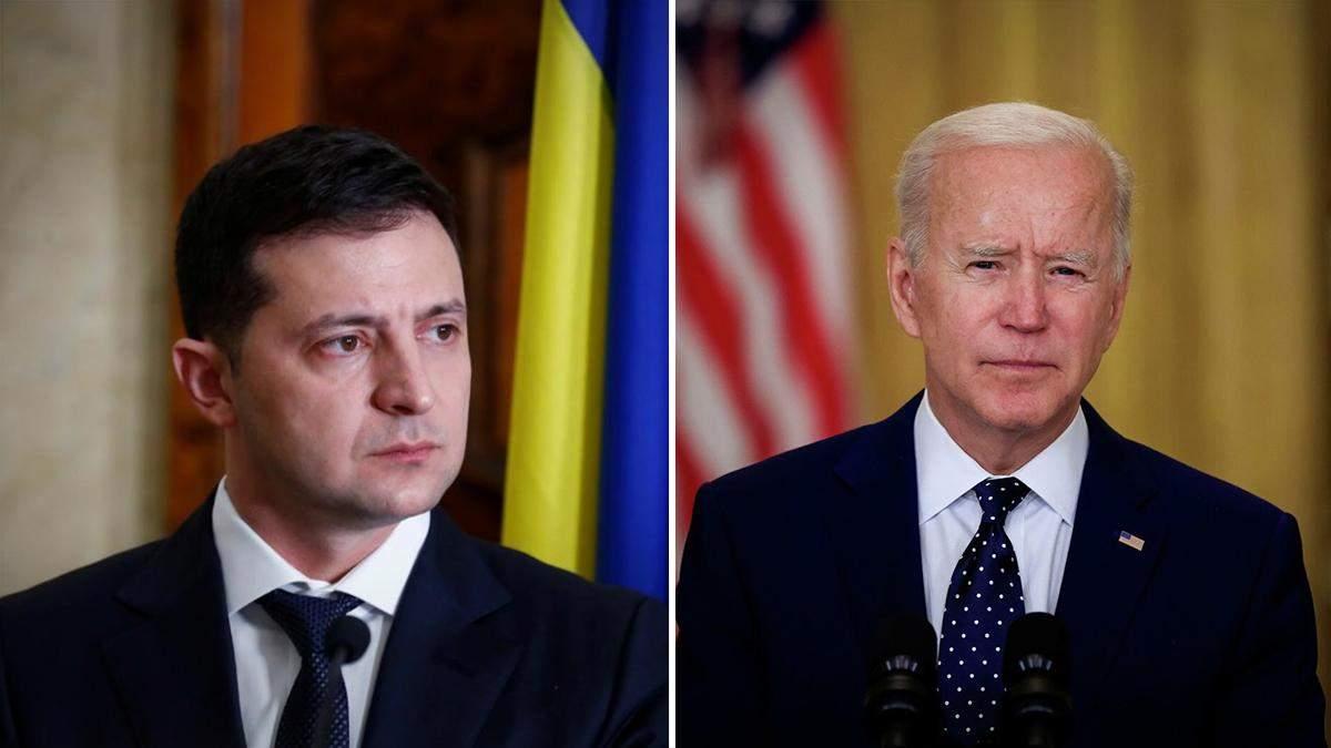 У Офісі Президента розповіли про зустріч Зеленського і Байдена