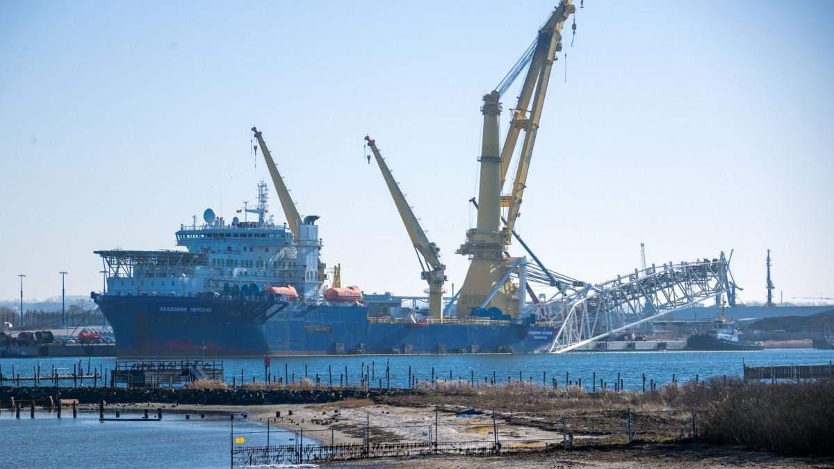 США не вводять санкції проти компанії-оператора Північного потоку-2