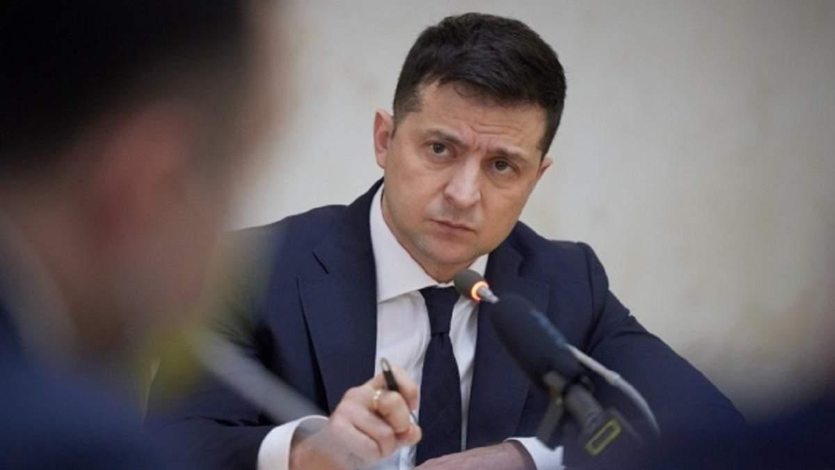 Зеленський на пресконференції присоромив Голованова