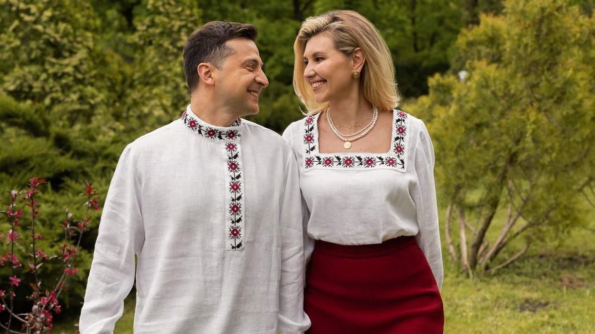 Зеленский поздравил украинцев с Днем вышиванки