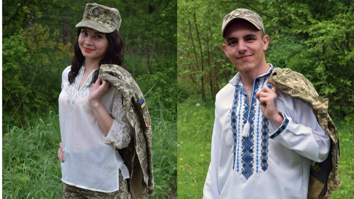 Военные поздравили украинуев с Днем вышиванки: фото и видео