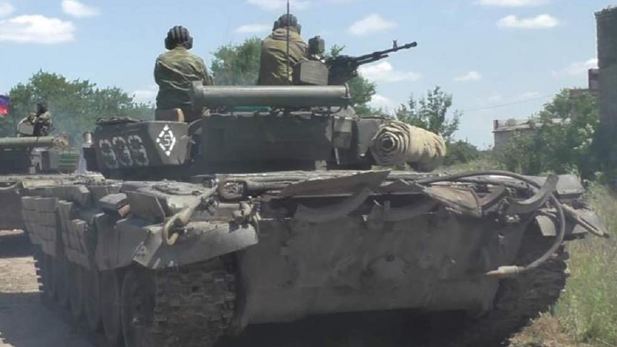 Бойовики вивели танки з місць зберігання на Донбасі, – ОБСЄ