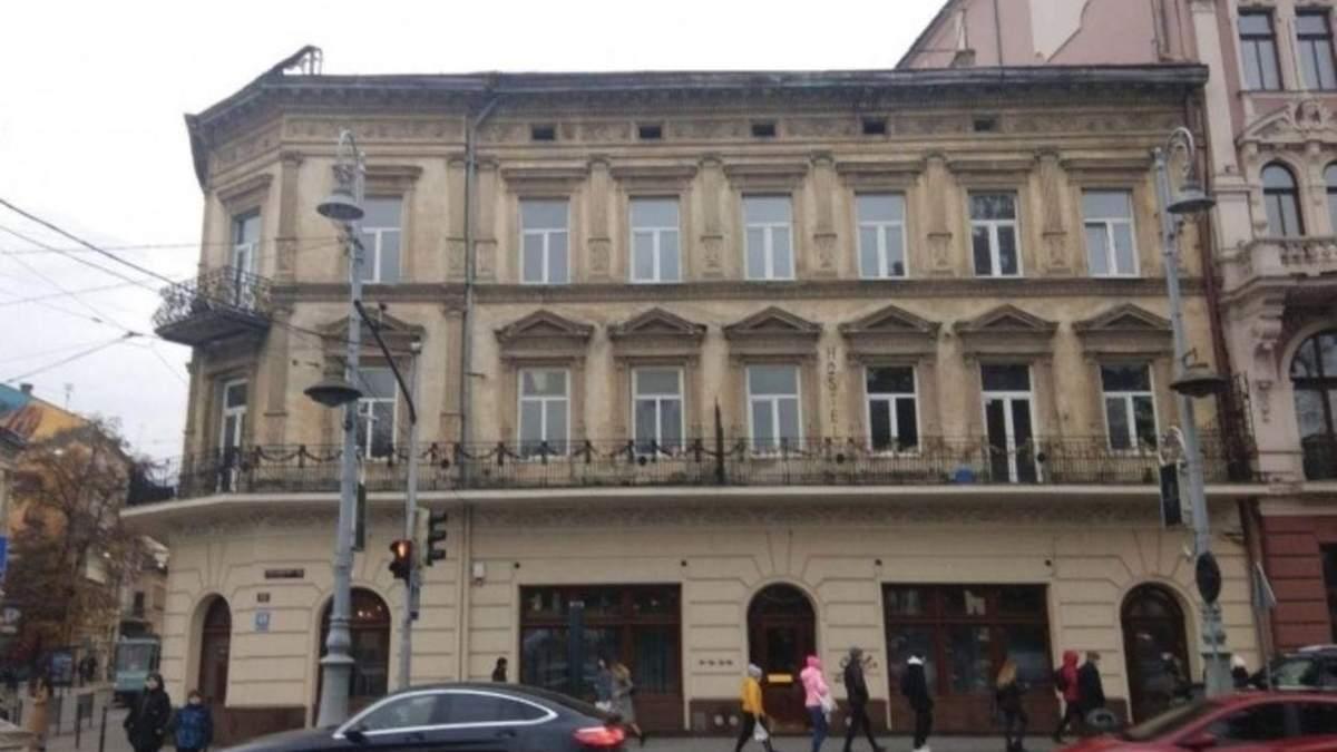Максимец разрешили переустроить под гостиницу памятник архитектуры в центре Львова