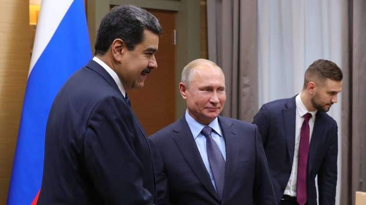 Російські найманці в Венесуелі: у Путіна можуть готувати новий військовий конфлікт