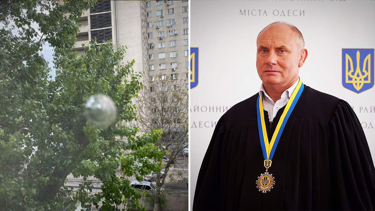 Суддя Кічмаренко звернувся до ВРП через обстріл кабінету