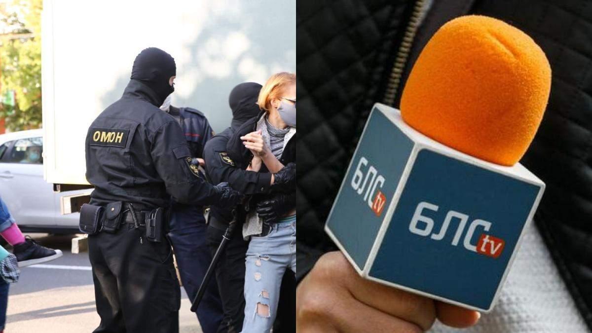В Беларуси силовики наведались в студию телеканала с обысками