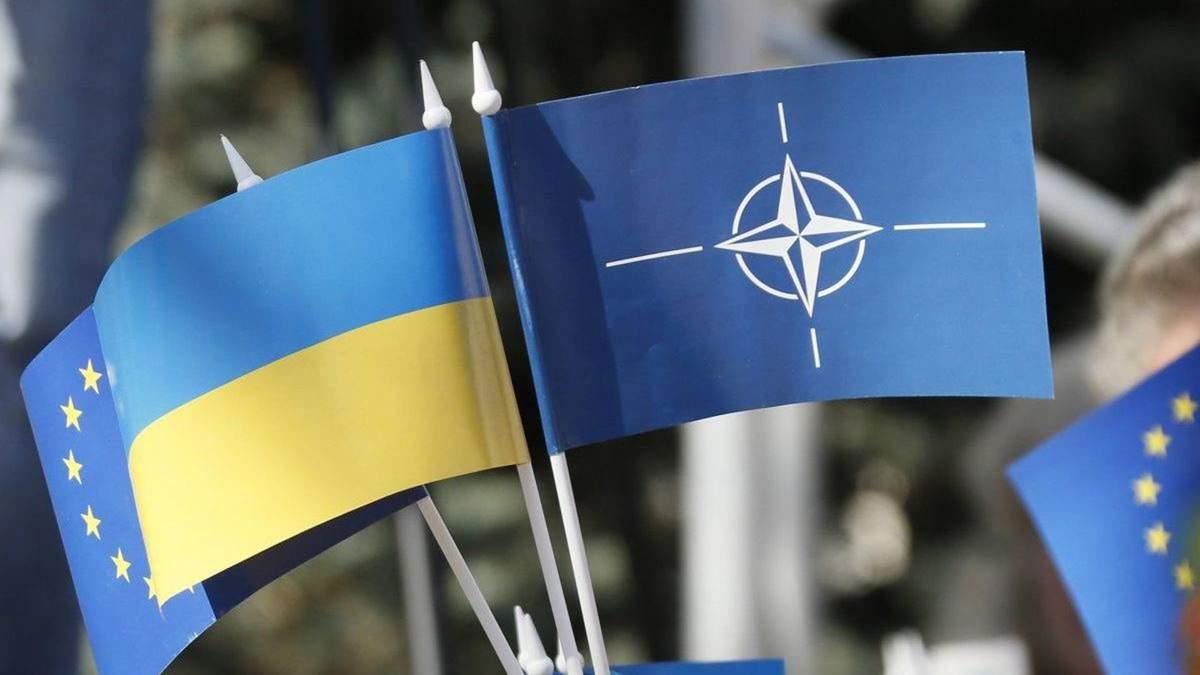 Сколько украинцев поддерживают вступление в ЕС и НАТО: опрос