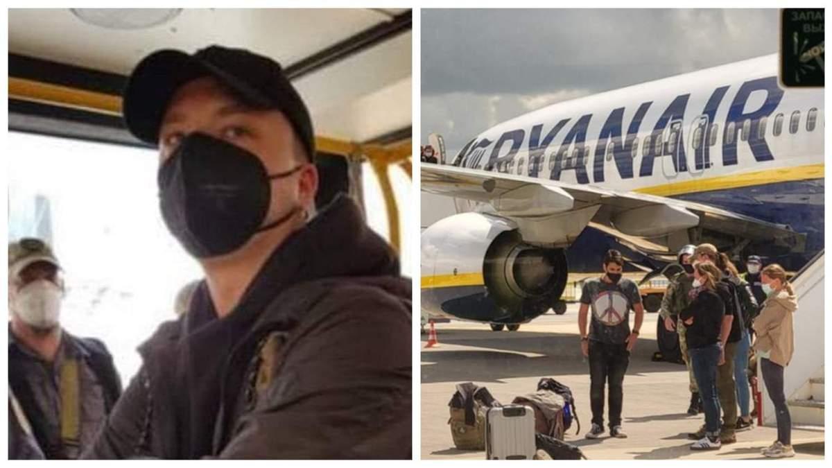 Тут мене чекає смертна кара: пасажири розповіли про слова Протасевича перед затриманням