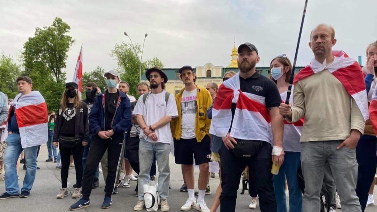 Затримання Протасевича : кияни влаштували на підтримку журналіста