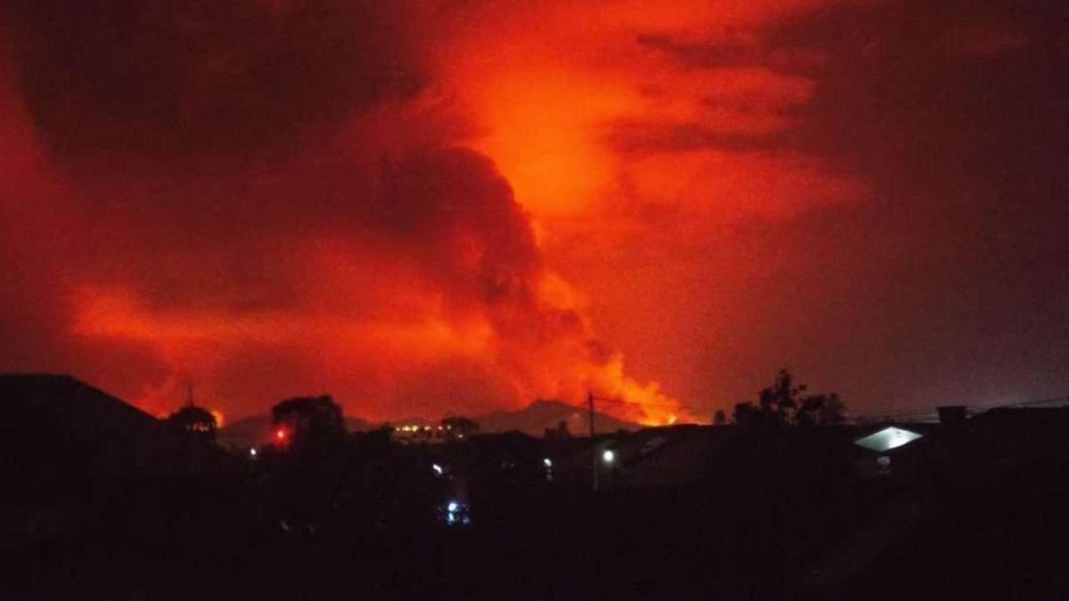 Українські миротворці у Конго розповіли про виверження вулкану
