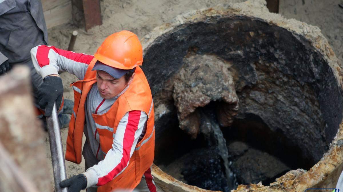 В Киеве из-за аварии нет воды на 10 улицах