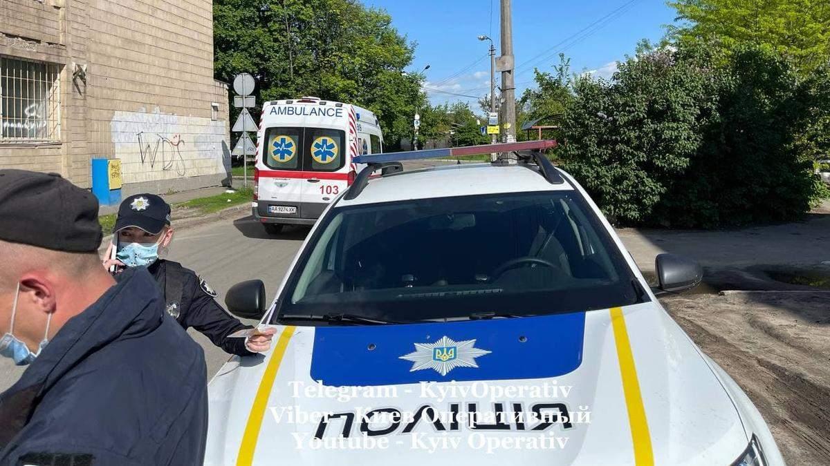 В Киеве из окна выпал 4-летний мальчик