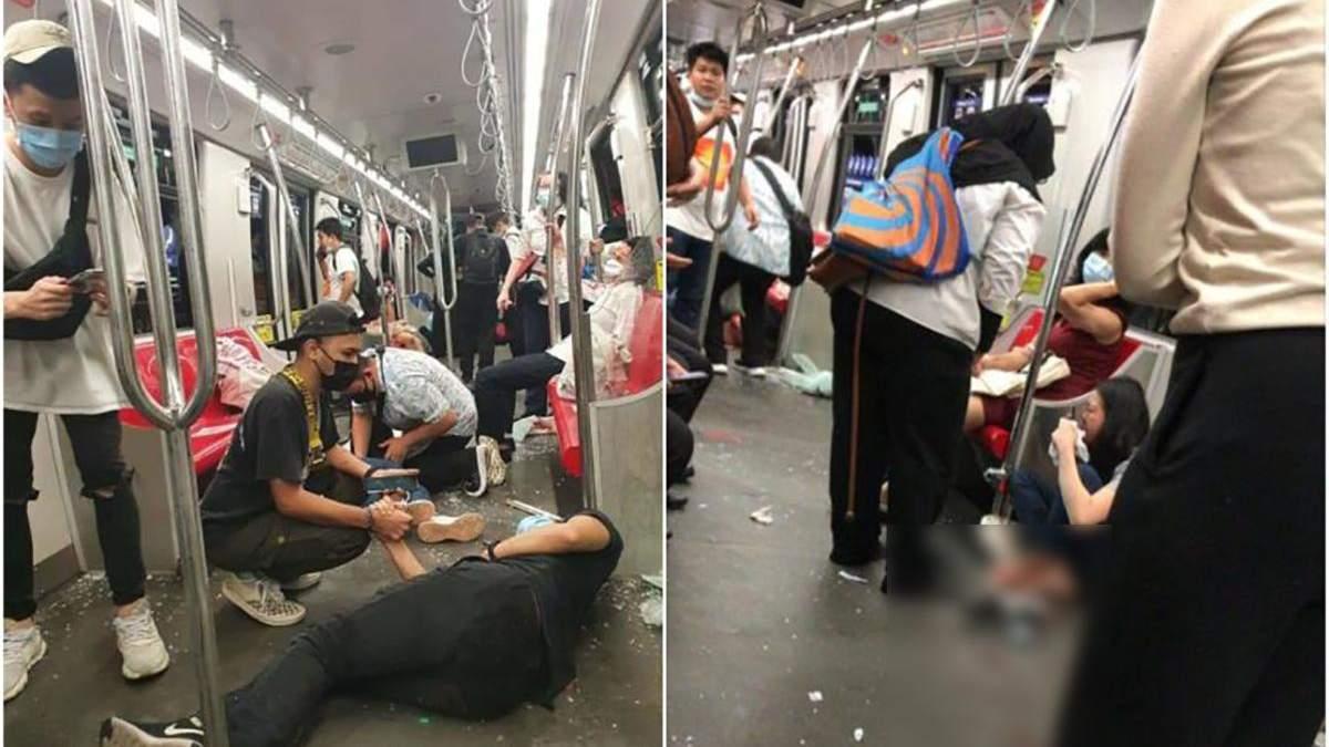 У малайзійському метро 24 травня 2021 зіткнулися потяги