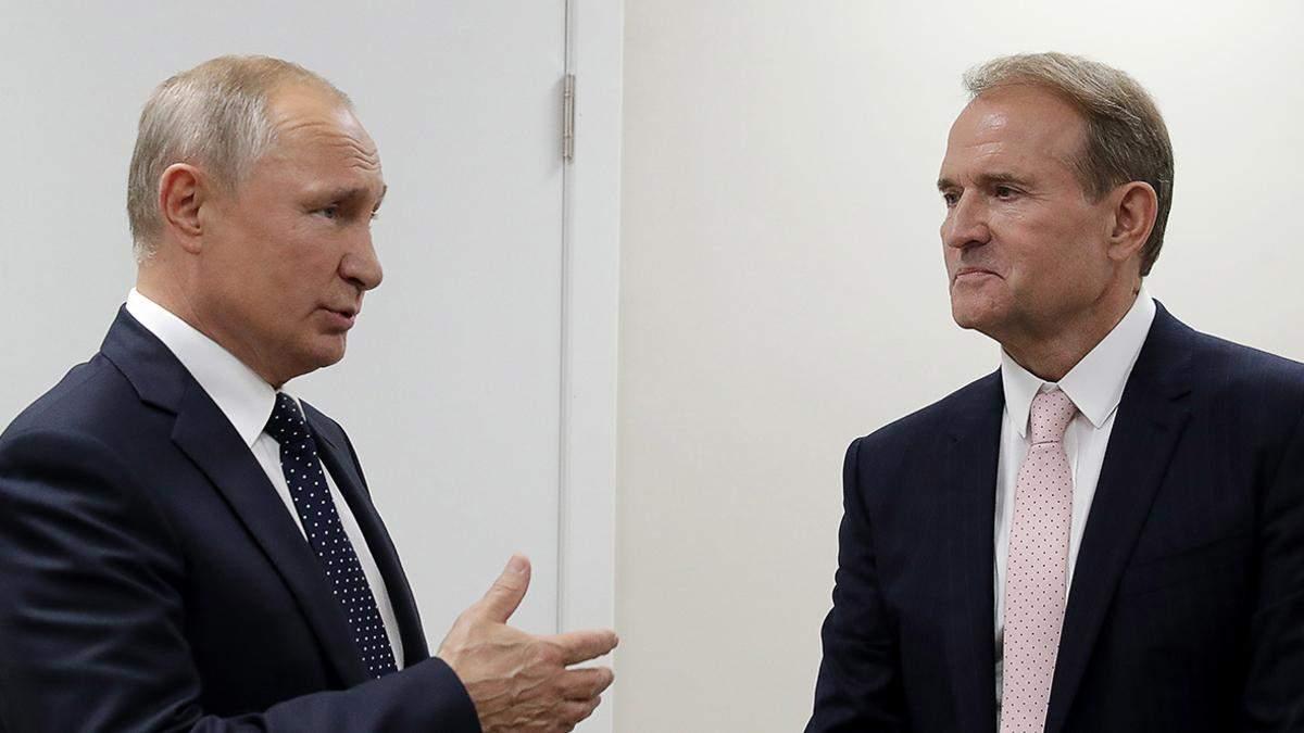 Медведчук просил Кремль обменять трубу на завод Порошенко в Крыму