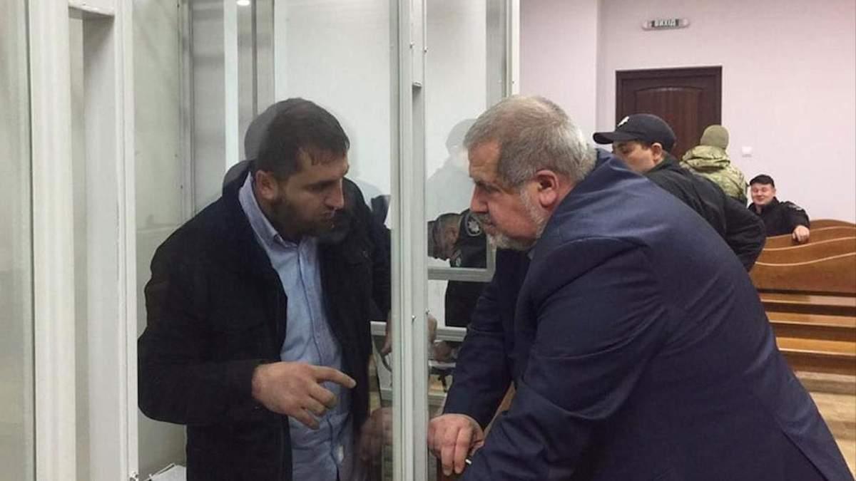Салман Сайнароєв та Рефат Чубаров