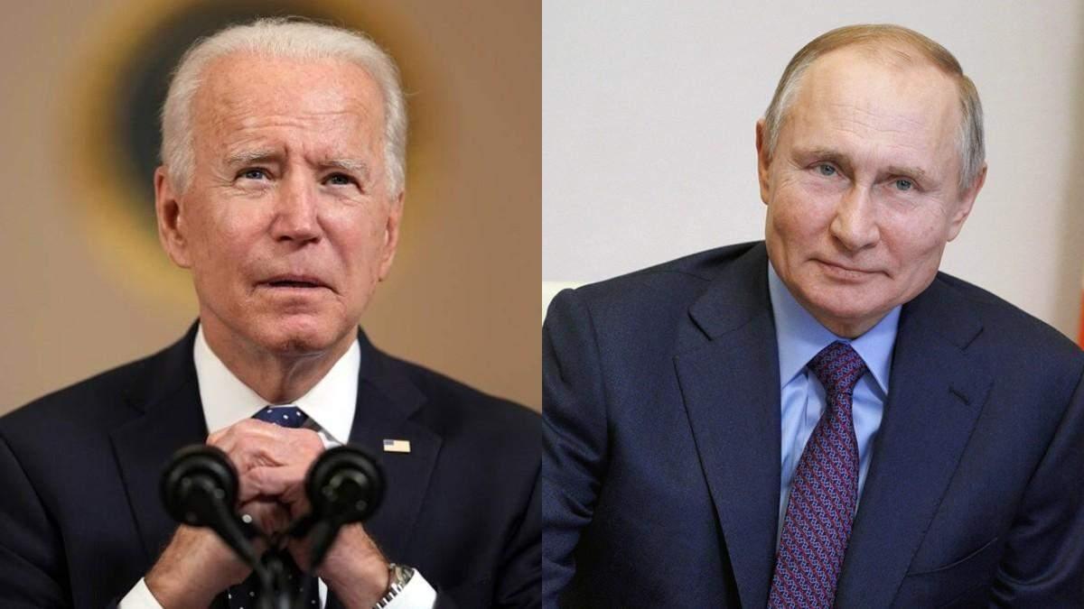Байден обсудит с Путиным вопрос Украины во время встречи