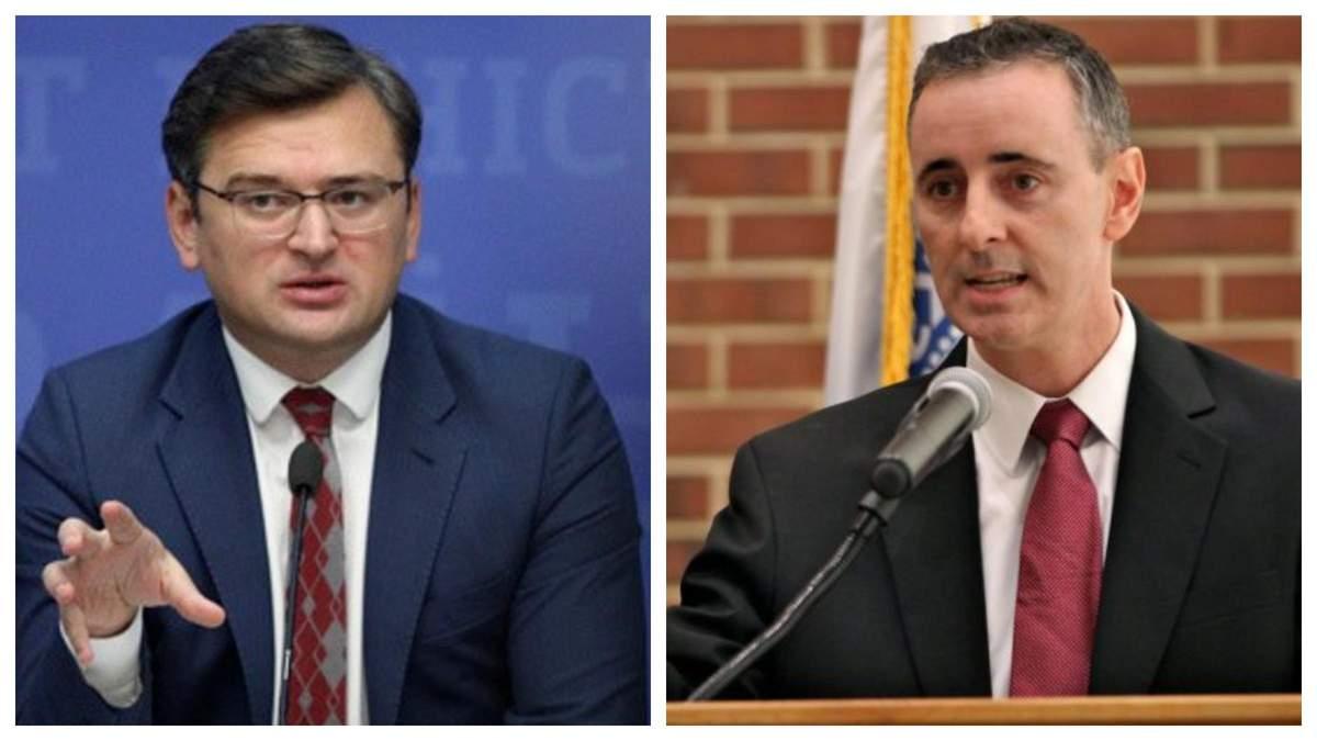 Кулеба обсудил с конгрессменом США противоборство Северному потоку-2