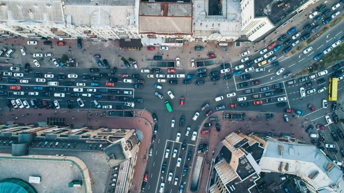 Онлайн карта заторов и ДТП в Киеве 27.05.2021: где затруднено движение