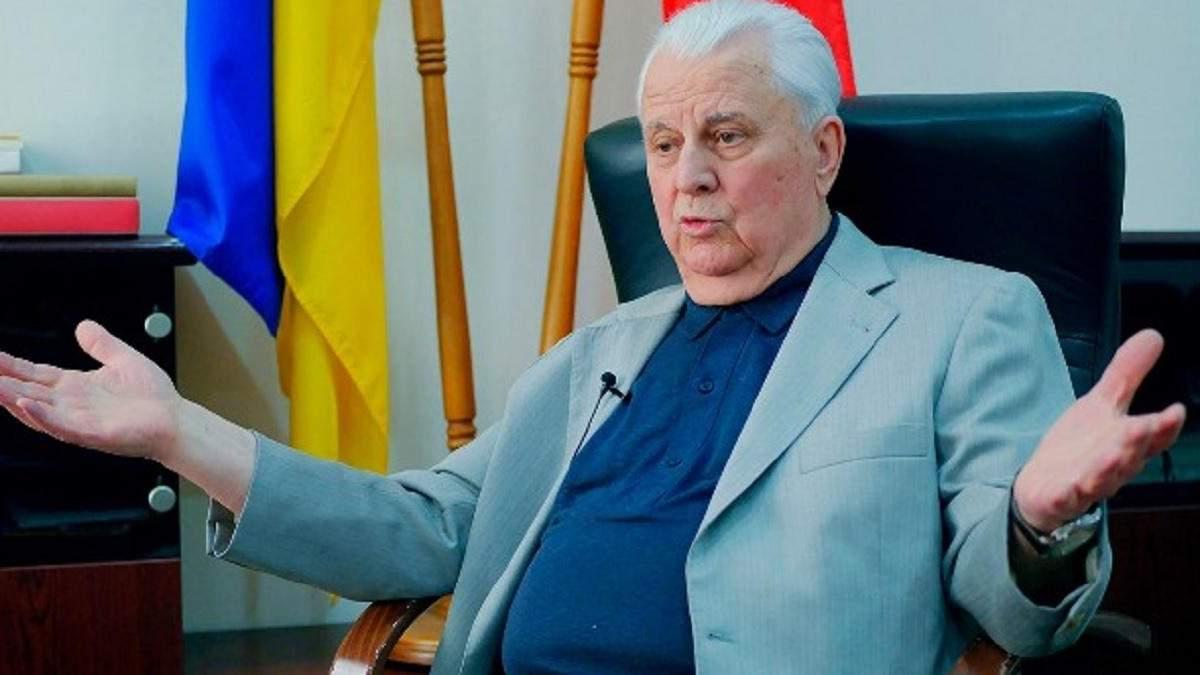 Мінськ вже не може бути майданчиком для переговорів, – Кравчук