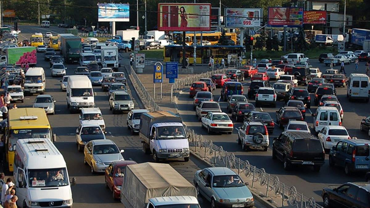Киев утром 28 мая 2021 охватили пробки: онлайн-карта