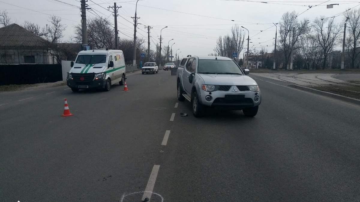 КОРДовец в Мариуполе сбил двух сестер: ему объявили подозрение