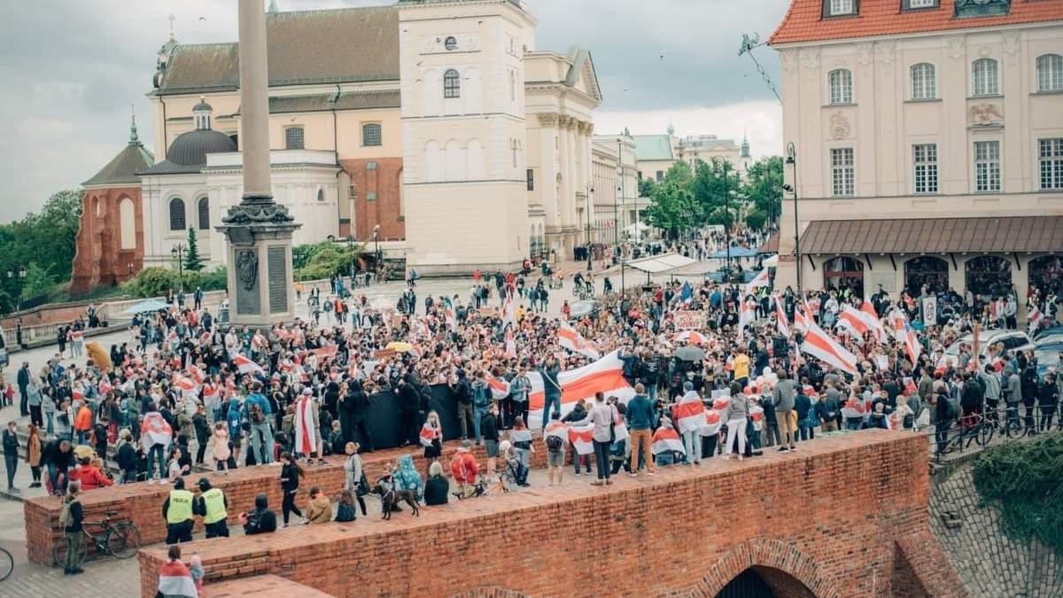 В мире - глобальный пикет солидарности с Беларусью: фото