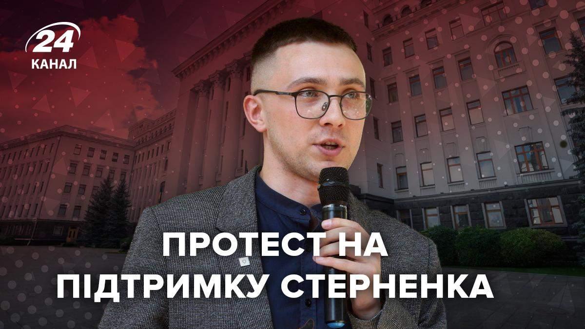 Апелляционный суд изменил вердикт  Стерненко— Год условно