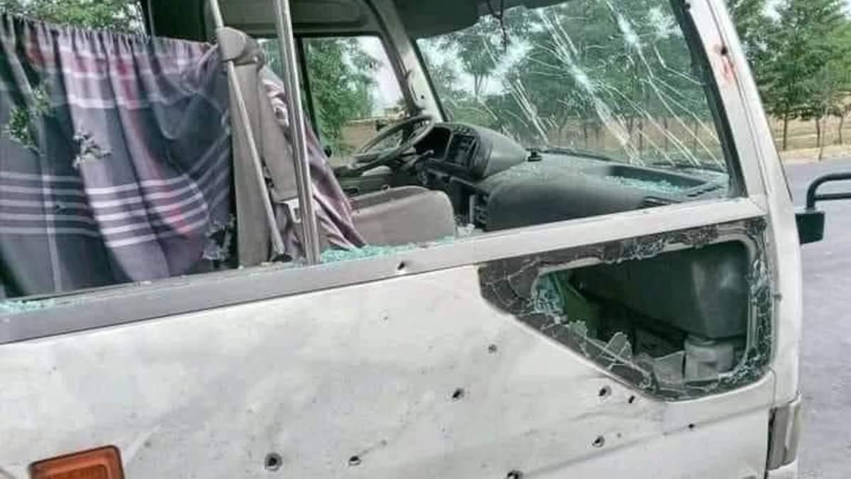 В Афганістані підірвався автобус з викладачами 29 травня 2021