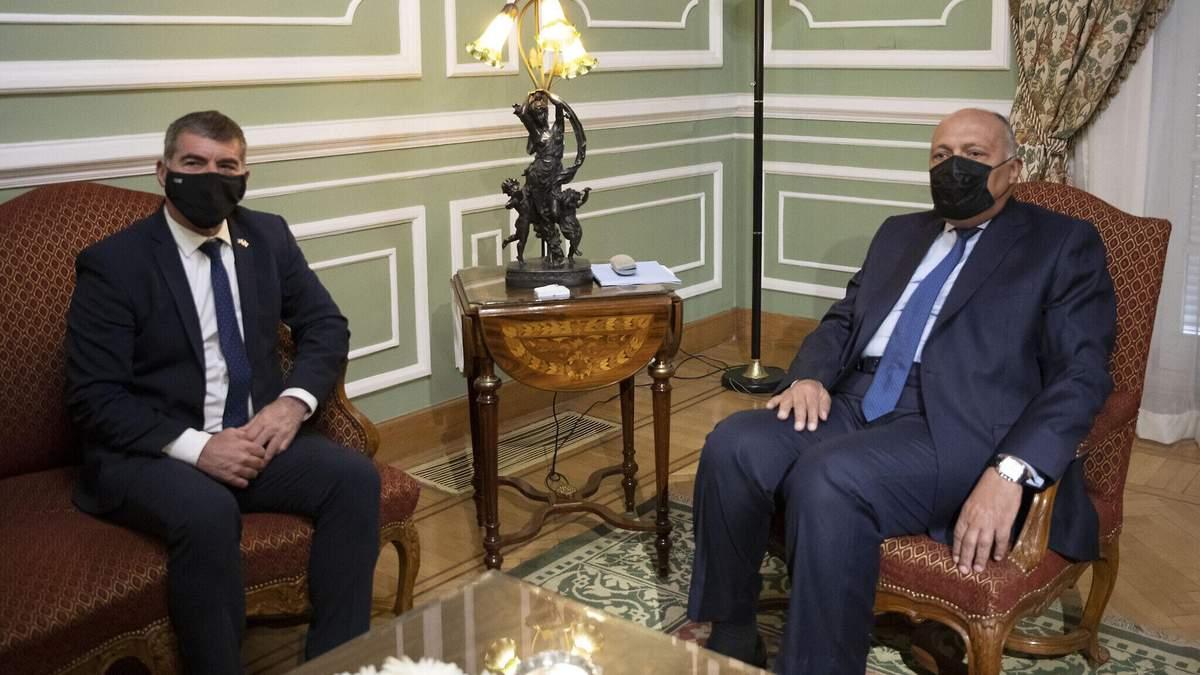 Глави МЗС Ізраїлю та Єгипту обговорять питання Сектора Гази
