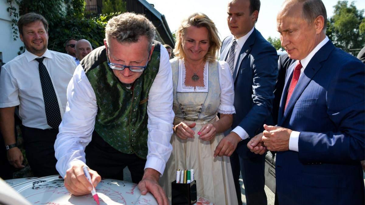 Карін Кнайсль, яка танцювала з Путіним, у раді дирекорів Роснефти