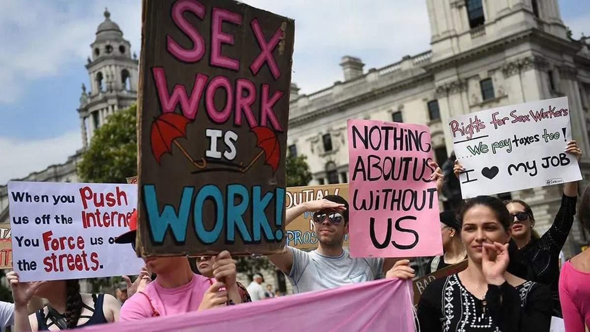 Криміналізація секс-праці тільки поглиблює проблему, а не викорінює