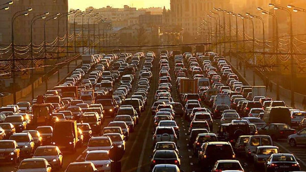 Пробки в Киеве утром 3 июня: онлайн-карта