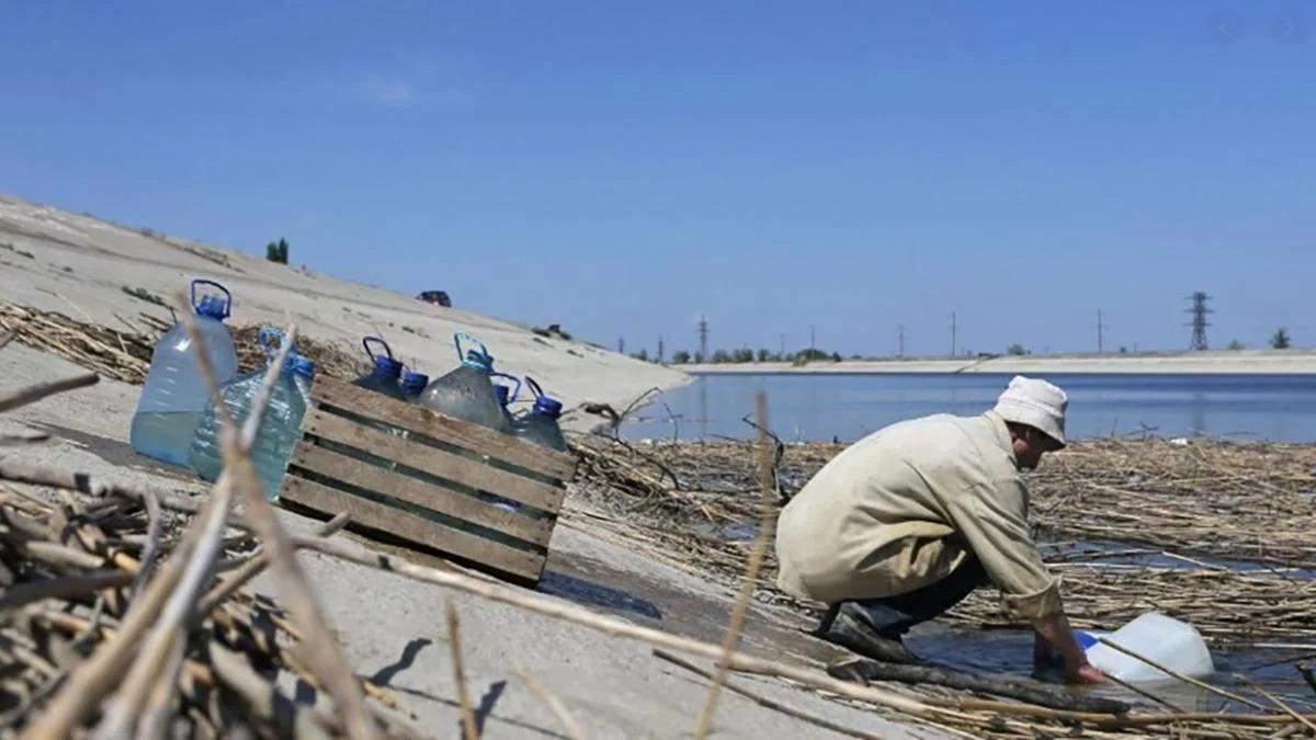 Річки пересихають, а водосховища міліють: в Криму води стало ще менше