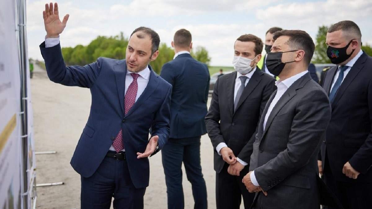 Зеленский анонсировал реализацию 1000 проектов Большого строительства