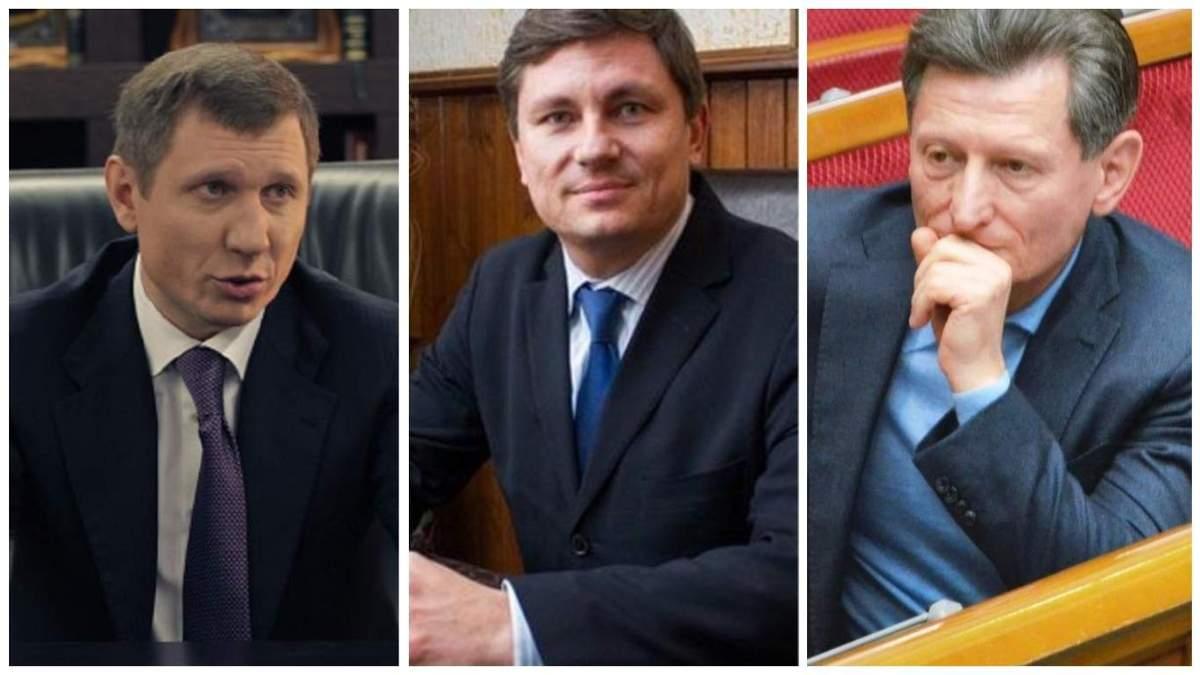 НАБУ розслідує справи проти нардепів Герасимова, Шахова і Волинця