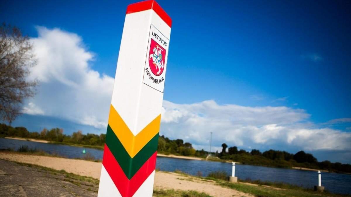 Литва заявила про посилення охорони кордону з Білоруссю: причина