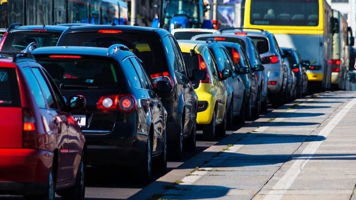 Пробки в Киеве 4 июня: как лучше объехать - онлайн-карта