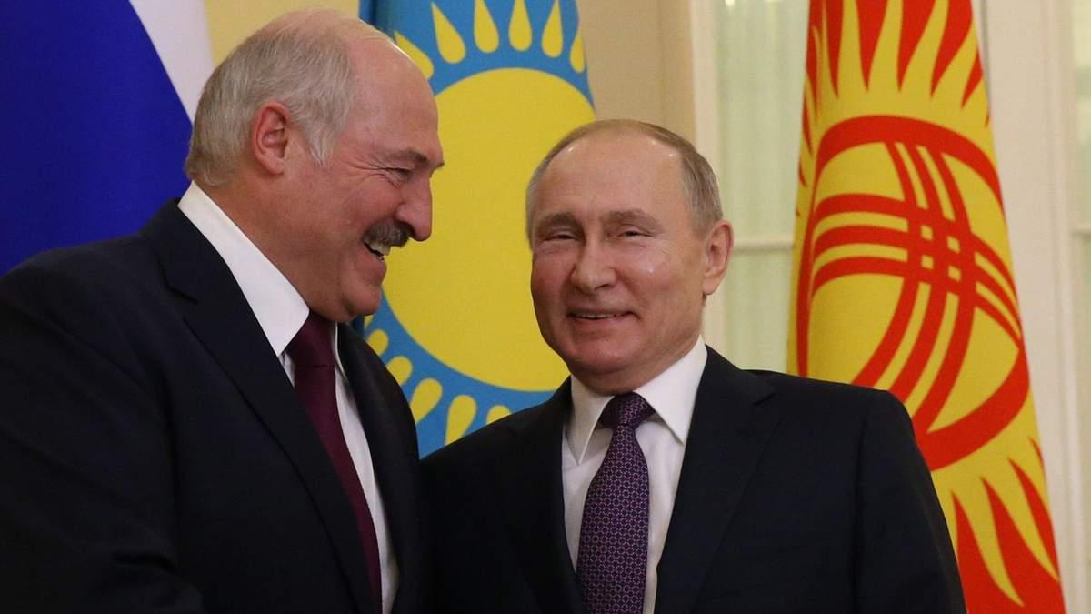 Хто сильніше залякає: як Путін і Лукашенко змагаються
