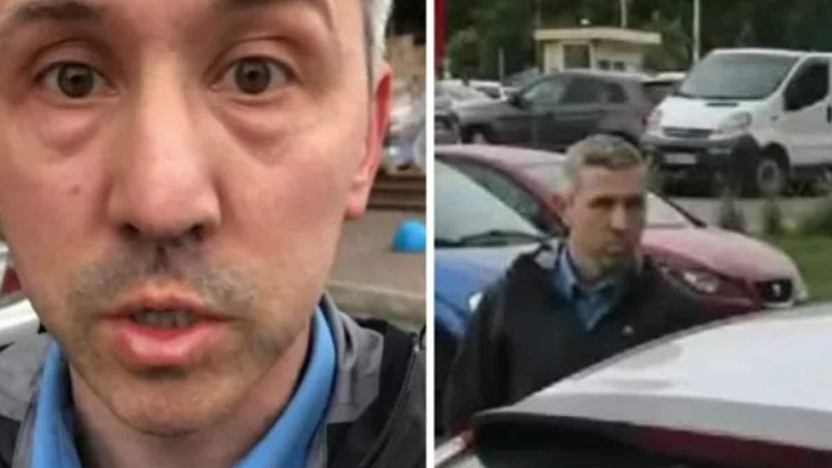 В Киеве таксист Bolt забрызгал газовым баллоном пассажирку с ребенком