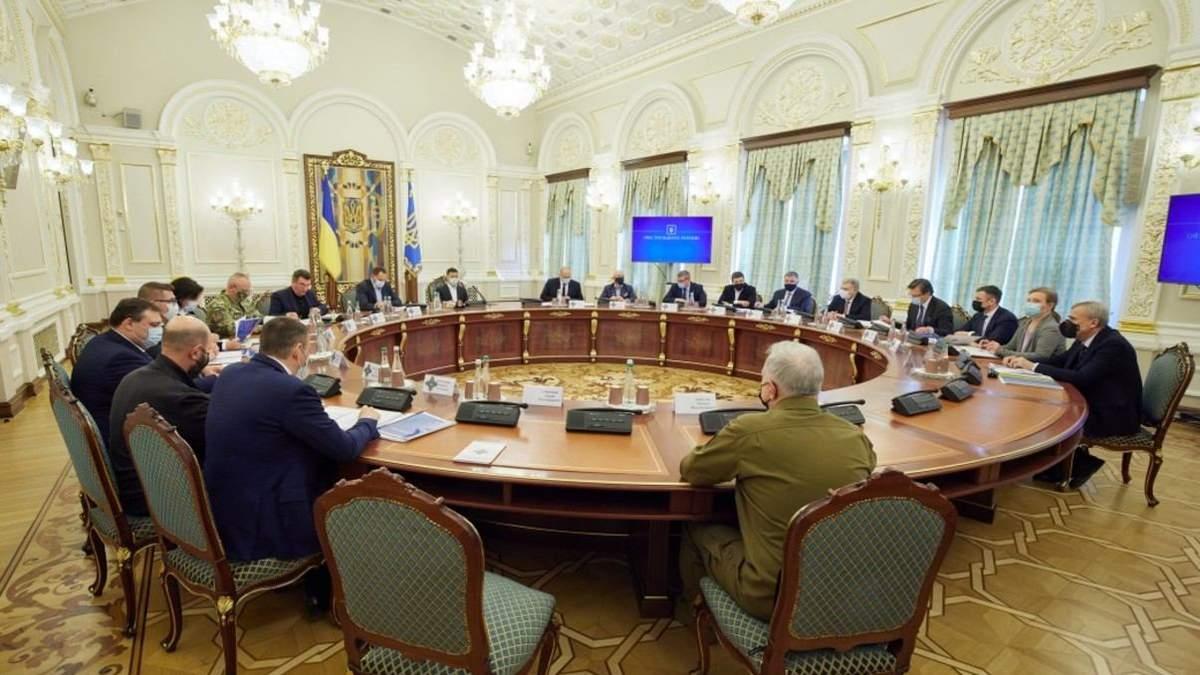 РНБО розглянула засекречені питання про Крим і боротьбу з тероризмом