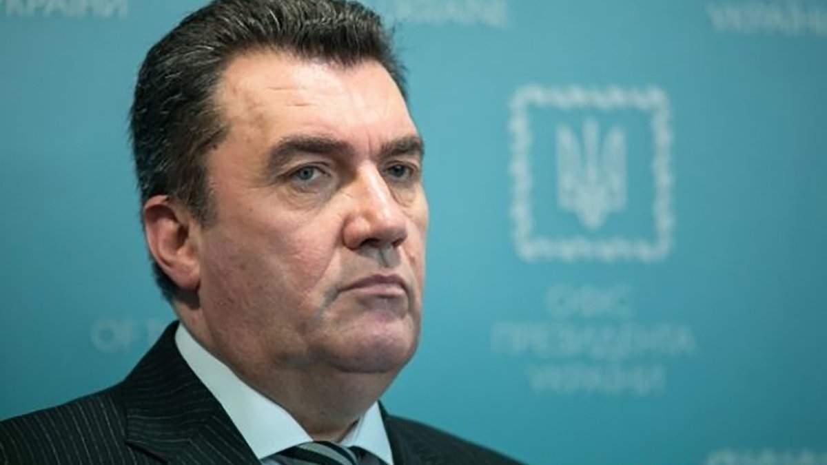 Данілов назвав Німеччину та Францію відповідальними за окупацію Криму
