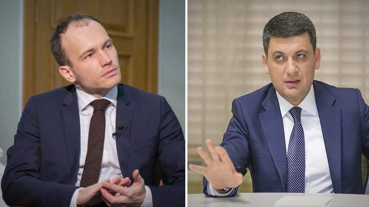 Детектор брехні на корупцію: Малюська та Гройсман влаштували перепалку на Шустері