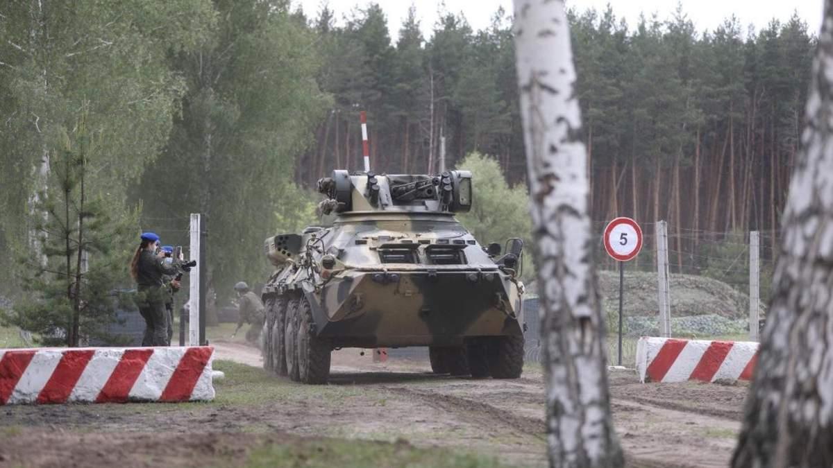 На Харківщині тренувалась поліція, гвардійці та рятувальники: фото