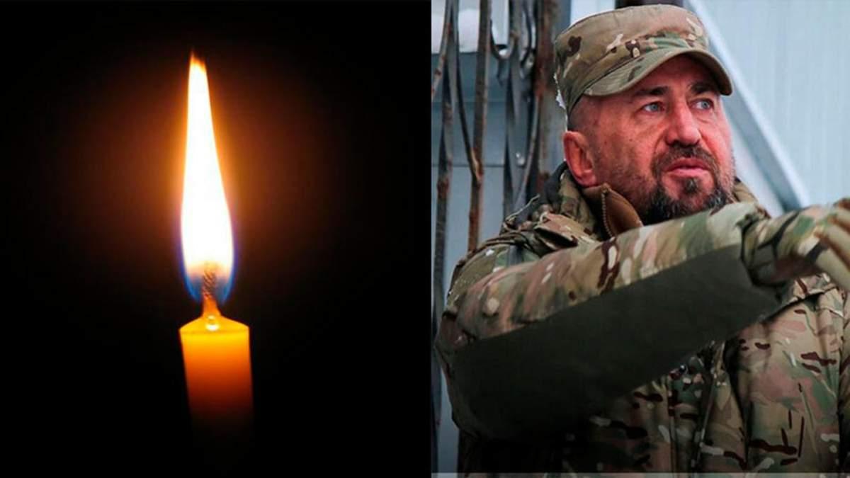 Помер заступник командира полку Азов з тилу Олександр Павлюк
