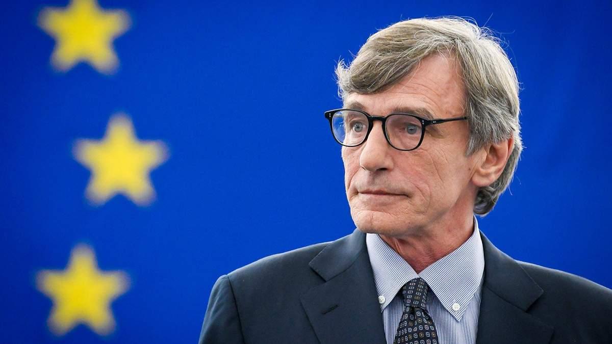 Сассолі закликав підтримати вступ країн Західних Балкан до ЄС