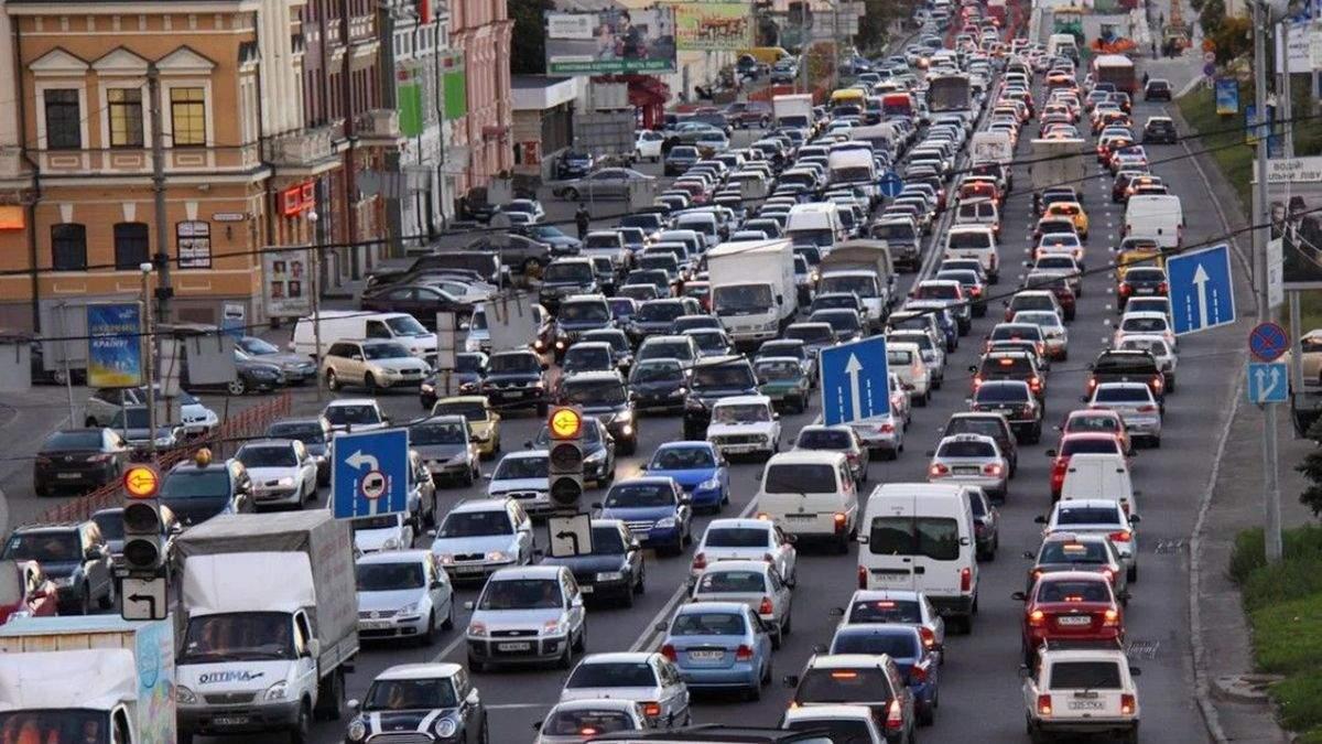 Где затруднено движение в Киеве 7 июня: онлайн-карта