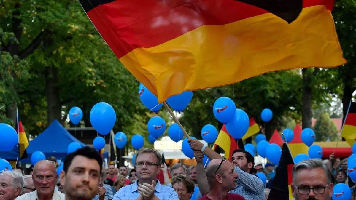 Выборы в Восточной Германии