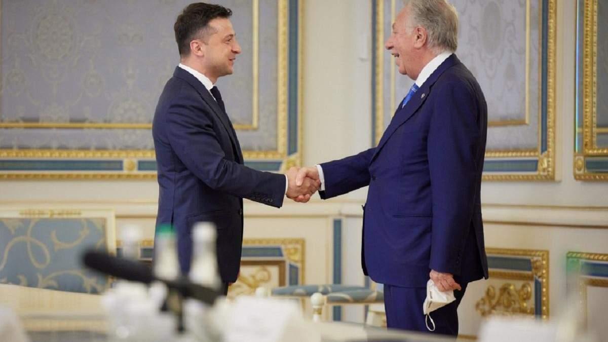 Зеленський обговорив українські реформи з главою Венеціанської комісії